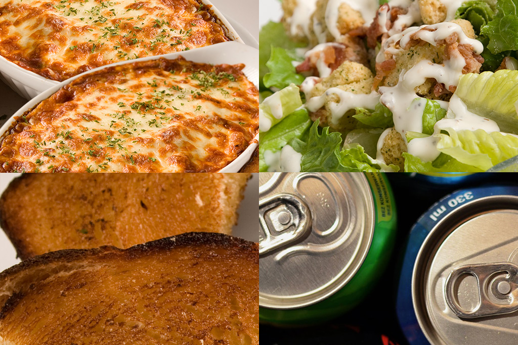 Sam's 2 for 1 Pizza & Pasta in Spruce Grove - Party Special Pasta & Caesar Salad